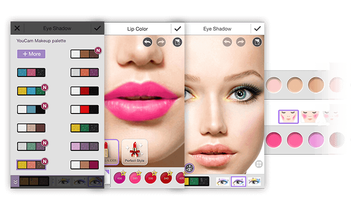 Makeup apps for